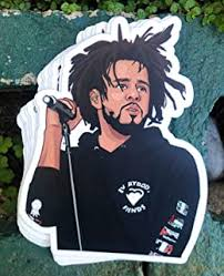 Amazon Com J Cole Crown Sticker Everything Else