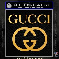 Gucci Full Decal Sticker A1 Decals