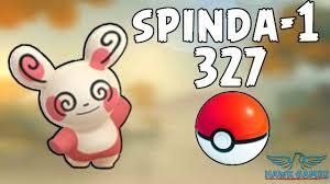 Spinda #1 caught - Generation 3 Pokedex 327 - Pokemon GO [No Hack ...