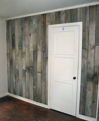 Little Vintage Cottage Whole House Redo My Bedroom Reclaimed Fence Board Wall Vintage Cottage Old Fence Boards Home Diy