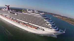 carnival cruise departing port