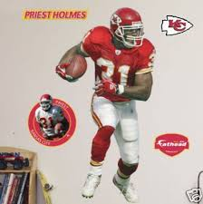 Priest Holmes Kansas City Chiefs FATHEAD Life Size NEW! | #170394099