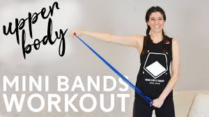 upper body resistance band loop workout