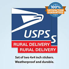 Amazon Com Usps Rural Carrier Stickers Set Of 2 Usps Decal Sticker Usps Logo Sticker Usps Rural Carrier Accessories Usps Signs For Car Usps Signs Rural Carrier Usps Sticker For Car Arts
