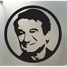 Amazon Com Robin Williams Sticker Rip Portrait Circle Mork Car Window Decal Die Cut Vinyl Decal For Windows Cars Trucks Tool Boxes Laptops Macbook Virtually Any Hard Smooth Surface Automotive