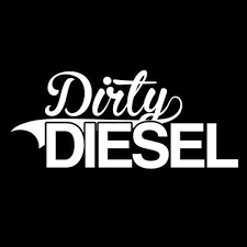 Dirty Diesel Sticker Vinyl Decal Diesel Boosted Etsy