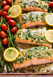 Garlic Salmon with Lemon Butter {Ready ...