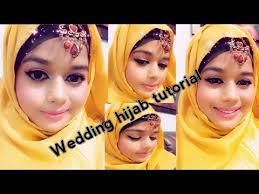 makeup wedding hijab tutorial and