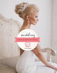 hair and makeup wedding ideas