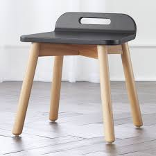 Shop Devon Black And Natural Play Stool The Devon Black And Natural Play Stool Is Strong Enough For The Playr Modern Kids Chairs Kids Chairs Kids Lounge Chair