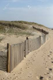 Sea Sand Dune Wood Fence Stock Photo Picture And Royalty Free Image Image 75224576