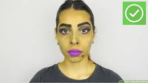 3 ways to apply witch makeup wikihow
