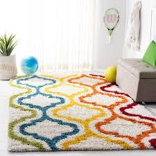 Shop Safavieh Kids Shag Ivetta Moroccan Rainbow Rug On Sale Overstock 10906596