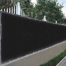 Amazon Com Yescom 25x6 Ft Mesh Privacy Fence Screen Netting Windscreen 180 Gsm Hdpe Fabric Slat Fencing Sunshade Cover Balcony Garden Outdoor