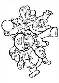 Free Printable Coloring Page Super Mario Bros Kleurplaten