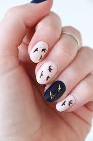 Gold And Black Flying Bird Nail Tattoos Nail Decals