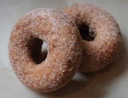 homemade gluten free cinnamon donuts