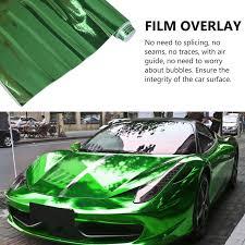 Tsv Chrome Mirror Vinyl Wrap Adhesive Car Sticker Decal Film Car Vinyl Chrome Mirror Wrap High Gloss Self Adhesive Diy Car Decals Film Sheet 12 X60 Red Green Silver Blue Gray Walmart Com