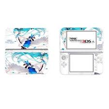 Super Promo A3c6fc Vinyl Cover Decal Skin Sticker For New 3ds Xl Skins Stickers For New 3ds Ll Vinyl Skin Sticker Protector Hatsune Miku Cicig Co