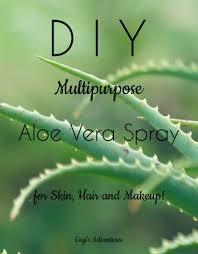 diy multipurpose aloe vera spray for