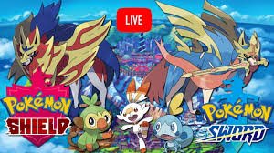 Pokemon Sword and Shield Live Stream Part 2 - YouTube
