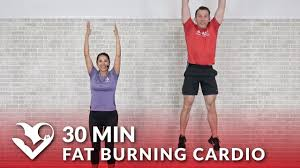 30 minute fat burning cardio workout at