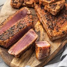 Spice-Rubbed Seared Ahi Tuna Steaks Recipe