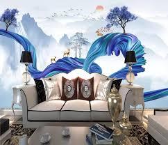 2020 Modern Mural Wallpaper 3d For Kids Room Living Room Bedroom Tv Backdrop 3d Photo Wall Mural Wallpapers Aliexpress