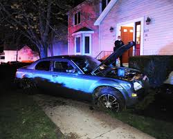 driver cited after crashing into front