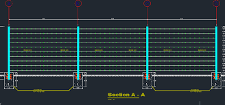Barbed Wire Fence Cad Files Dwg Files Plans And Details