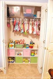 If You Have Lots Of Empty Room In The Bottom Of A Closet Turn It Into A Toy Storage Area I Did This In The Storage Kids Room Kids Rooms Diy Kids