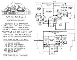 4 bedroom 2 story 3601 4500 square feet