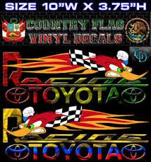 Country Flag Woody Racing Car Decal Vinyl Stickers 2816 B Set Of 2 R L Ebay