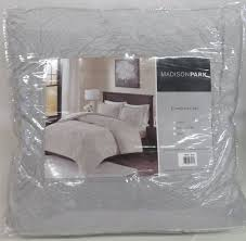 madison park gray polyester twin