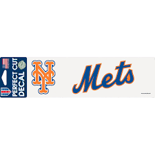 New York Mets Decal 10in X 3in Party City