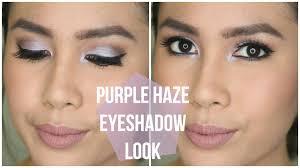 purple haze eyeshadow look feat