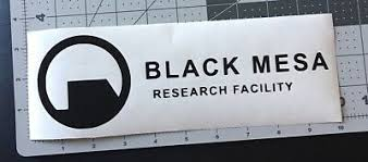 Black Mesa Research Facility Vinyl Decal Sticker Car Truck Boat Window Laptop 4 00 Picclick