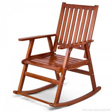 giantex rocking chair solid wood rocker