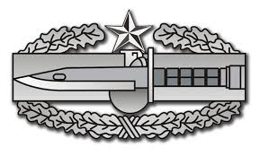 Army Combat Action Badge 2nd Award Sticker