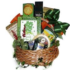 luck of the irish gift basket by