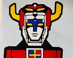 Voltron Decal Etsy