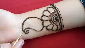 very easy and beautiful design of mehndi
