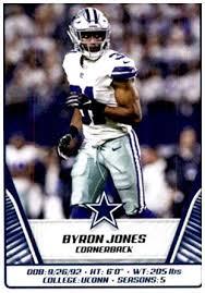 Amazon.com: 2019 Panini NFL Stickers #302 Byron Jones Dallas ...