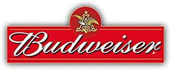 Budweiser Beer Logo Combo Car Bumper Sticker Decal 6 X 3 Amazon Com