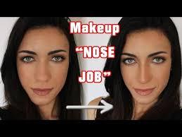 how i contour my nose make your nose