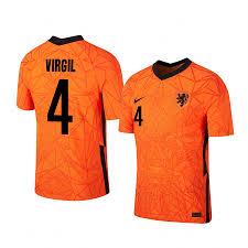 Virgil van Dijk Netherlands Home Jersey ...