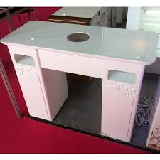 salon beauty nail dryer table used