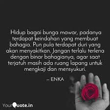 hidup bagai bunga mawar quotes writings by ummu tiara
