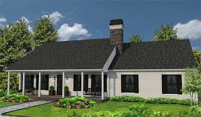 one story ranch style house plan 4309