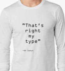 exo sehun quote gifts merchandise redbubble